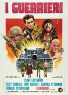 Kelly's Heroes - Italian Movie Poster (xs thumbnail)