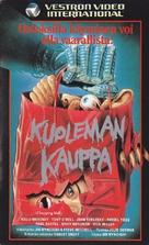 Chopping Mall - Finnish VHS movie cover (xs thumbnail)
