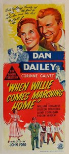 When Willie Comes Marching Home - Australian Movie Poster (xs thumbnail)