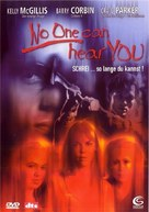 No One Can Hear You - German DVD cover (xs thumbnail)