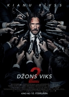 John Wick: Chapter Two - Latvian Movie Poster (xs thumbnail)