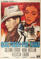 3:10 to Yuma - Italian Movie Poster (xs thumbnail)