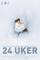 24 Wochen - Norwegian Movie Poster (xs thumbnail)