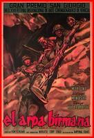 Biruma no tategoto - Spanish Movie Poster (xs thumbnail)