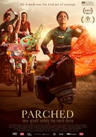 Parched - Belgian Movie Poster (xs thumbnail)