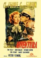 Adventure - Italian Movie Poster (xs thumbnail)