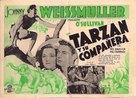 Tarzan and His Mate - Spanish Movie Poster (xs thumbnail)