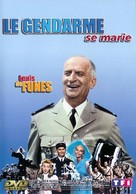 Le gendarme se marie - French DVD cover (xs thumbnail)