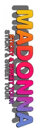 Madonna: Sticky & Sweet Tour - Logo (xs thumbnail)