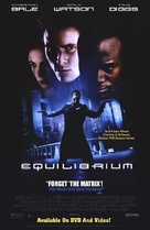 Equilibrium - Video release movie poster (xs thumbnail)