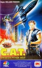 C.A.T. Squad - German VHS movie cover (xs thumbnail)