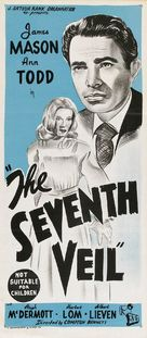 The Seventh Veil - Australian Movie Poster (xs thumbnail)