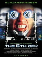 The 6th Day - Movie Poster (xs thumbnail)