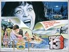 Friday the 13th - British Movie Poster (xs thumbnail)
