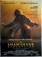 The Shawshank Redemption - Turkish Movie Poster (xs thumbnail)