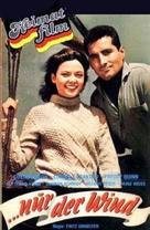 Nur der Wind - German VHS movie cover (xs thumbnail)