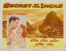Secret of the Incas - Movie Poster (xs thumbnail)