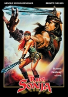 Red Sonja - Czech DVD cover (xs thumbnail)