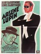 Arséne Lupin - French Movie Poster (xs thumbnail)
