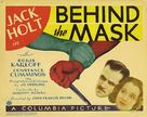Behind the Mask - Movie Poster (xs thumbnail)