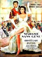 Madame Sans-Gêne - French Movie Poster (xs thumbnail)