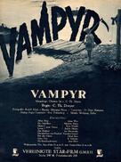 Vampyr - Der Traum des Allan Grey - German poster (xs thumbnail)