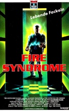 Spontaneous Combustion - German VHS movie cover (xs thumbnail)