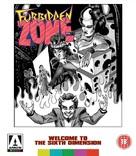 Forbidden Zone - British Blu-Ray cover (xs thumbnail)