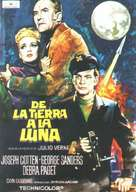 From the Earth to the Moon - Spanish Movie Poster (xs thumbnail)