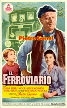 Il ferroviere - Spanish Movie Poster (xs thumbnail)