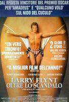 The People Vs Larry Flynt - Italian Movie Poster (xs thumbnail)