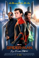 Spider-Man: Far From Home - Danish Movie Poster (xs thumbnail)