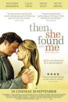 Then She Found Me - British Movie Poster (xs thumbnail)
