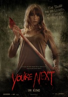 You're Next - German Movie Poster (xs thumbnail)