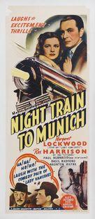 Night Train to Munich - Australian Movie Poster (xs thumbnail)