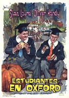 A Chump at Oxford - Spanish Theatrical poster (xs thumbnail)