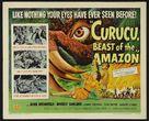 Curucu, Beast of the Amazon - Movie Poster (xs thumbnail)