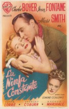The Constant Nymph - Spanish Movie Poster (xs thumbnail)