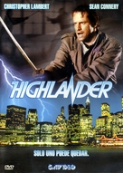 Highlander - Argentinian Movie Cover (xs thumbnail)