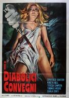 Las amantes del diablo - Italian Movie Poster (xs thumbnail)