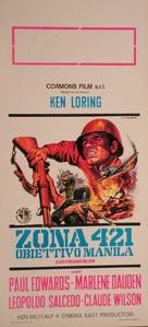 Combat Killers - Italian Movie Poster (xs thumbnail)