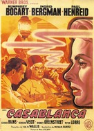 Casablanca - French Movie Poster (xs thumbnail)