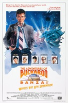 The Adventures of Buckaroo Banzai Across the 8th Dimension - Movie Poster (xs thumbnail)