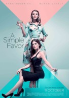 A Simple Favor - Malaysian Movie Poster (xs thumbnail)
