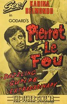 Pierrot le fou - British Movie Poster (xs thumbnail)