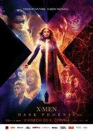 X-Men: Dark Phoenix - Czech Movie Poster (xs thumbnail)