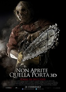 Texas Chainsaw Massacre 3D - Italian Movie Poster (xs thumbnail)