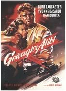 Criss Cross - German Movie Poster (xs thumbnail)