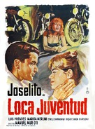 Loca juventud - Mexican Movie Poster (xs thumbnail)