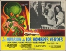 Invasion of the Saucer Men - Mexican Movie Poster (xs thumbnail)
